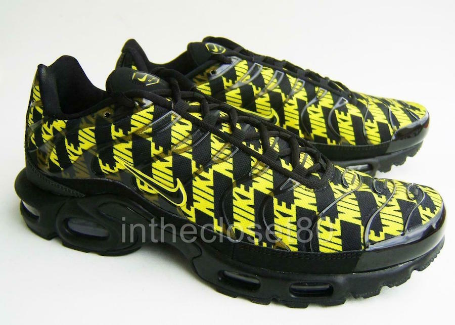 Nike Air Max Plus Black Optic Yellow CJ5331-001 Release Date
