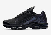 Nike Air Max Plus Just Do It Black Iridescent CJ9697-001 Release Date