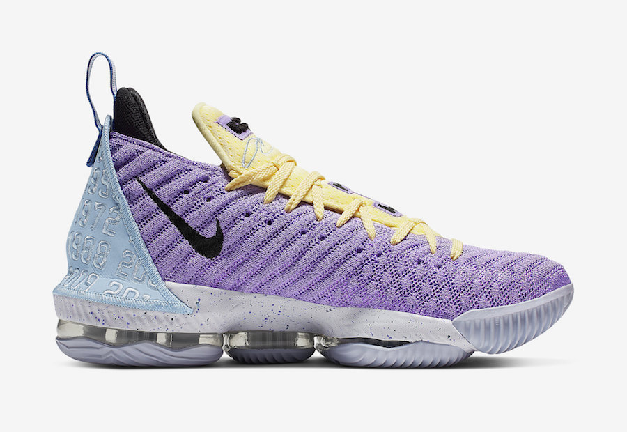 Nike LeBron 16 Lakers CK4765-500 Release Date Price