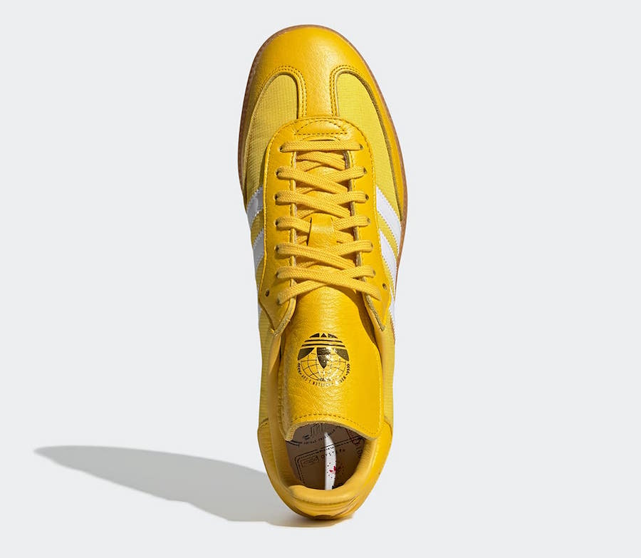 Oyster Holdings adidas Samba OG Yellow G26699 Release Date