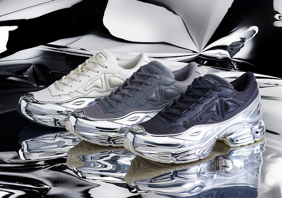 Raf Simons adidas Ozweego Mirrored Pack Release Date