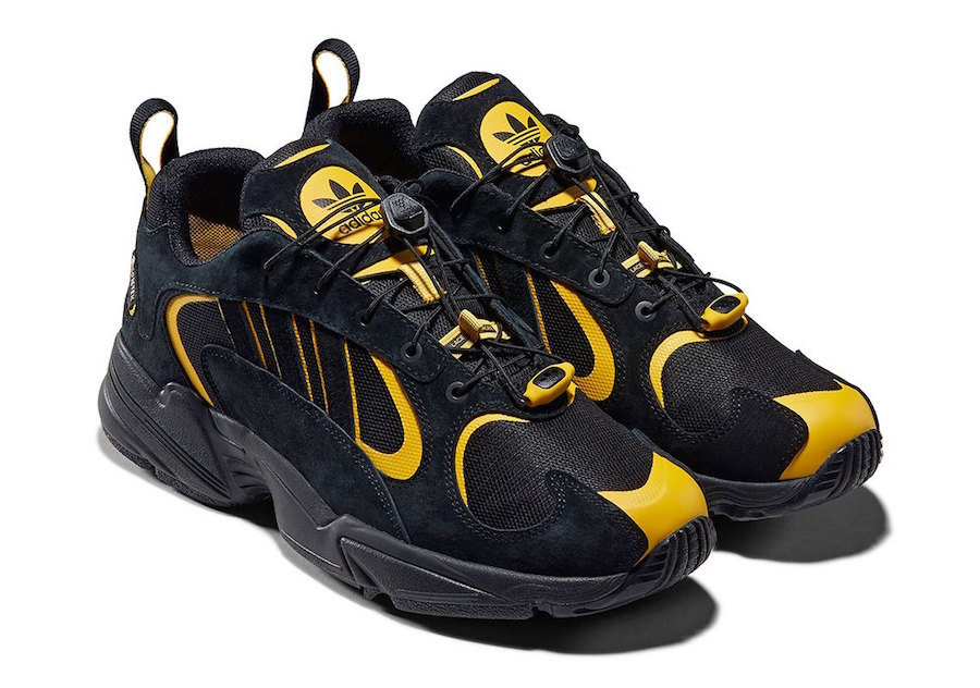 New Adidas Originals Yung 1 WANTO Athletic Shoes Sneakers BlackYellow(EE9254) | eBay