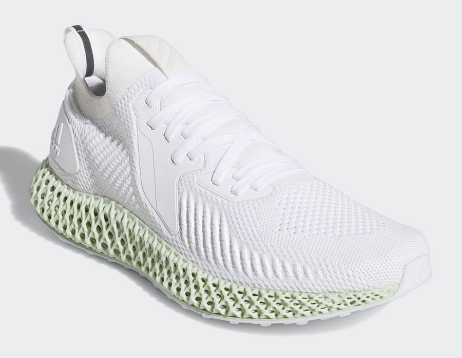adidas Alphaedge 4D White EF3454 Release Date