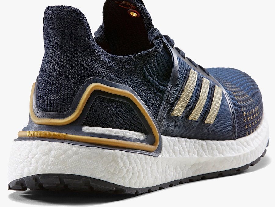 adidas Ultra Boost 2019 Navy Gold EE9447 Release Date