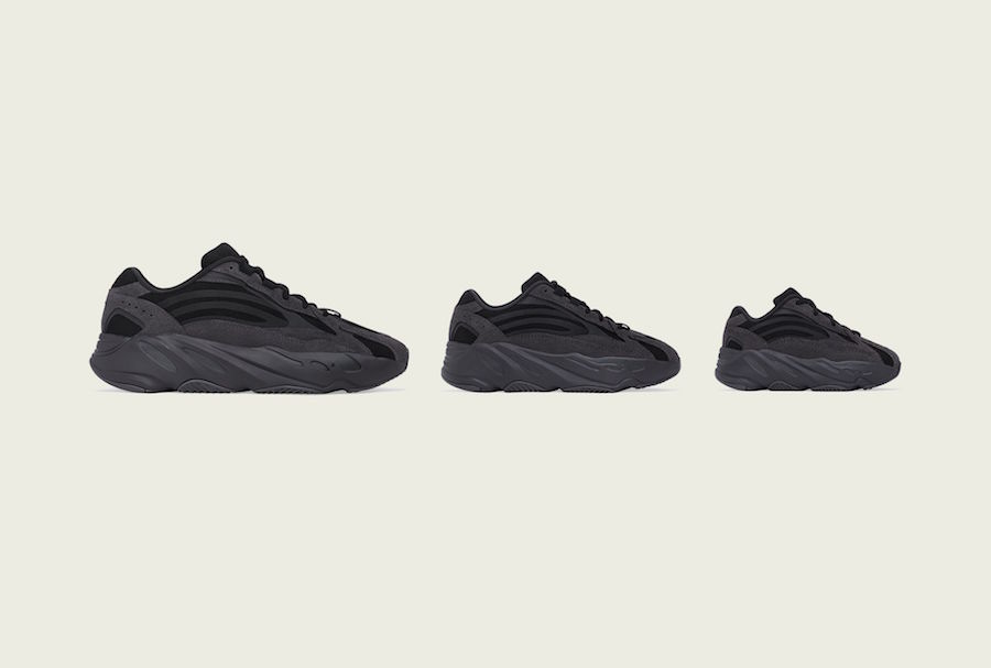 adidas Yeezy Boost 700 V2 Vanta FU6684 Release Date Family Sizing
