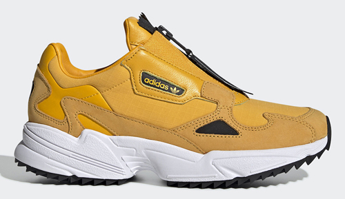 4b7dd48e adidas Falcon Zip Color: Active Gold/Core Black-Cloud White Style Code:  EE5113 Release Date: June 1, 2019. Price: $120 — Buy: eBay // adidas