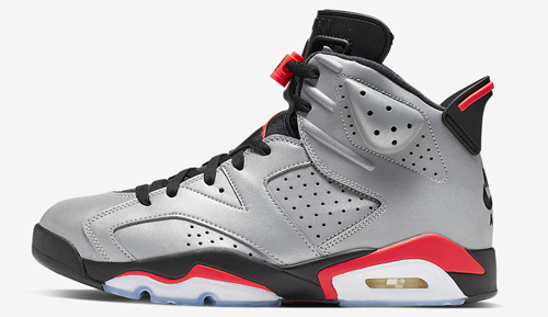 "bd813c3ee68 Air Jordan 6 ""Reflections of a Champion"" Color: Reflect  Silver/Black-Infrared Style Code: CI4072-001. Release Date: June 8, 2019.  Price: $225"