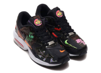 atmos Nike Air Max2 Light Black Alternate CI5590-001 Release Date