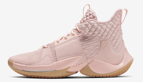 """best service edac2 56670 Jordan Why Not Zer0.2 """"Cotton Shot"""" Color: Washed Coral/Gum Yellow-Storm  Pink-Pure Platinum Style Code: AO6219-600. Release Date: June 6, 2019.  Price: $125"""