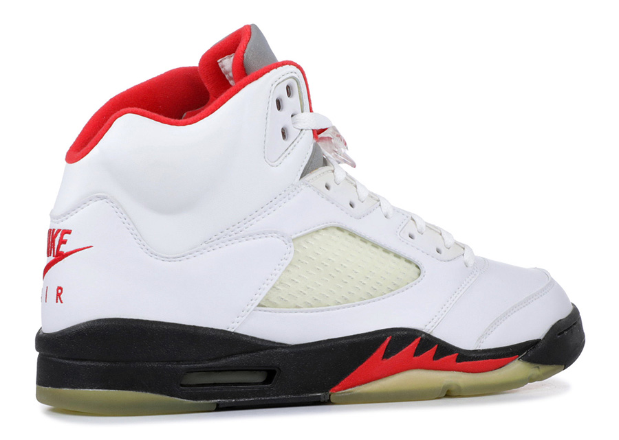 Air Jordan 5 Fire Red 3M Silver Tongue 2020 Release Date