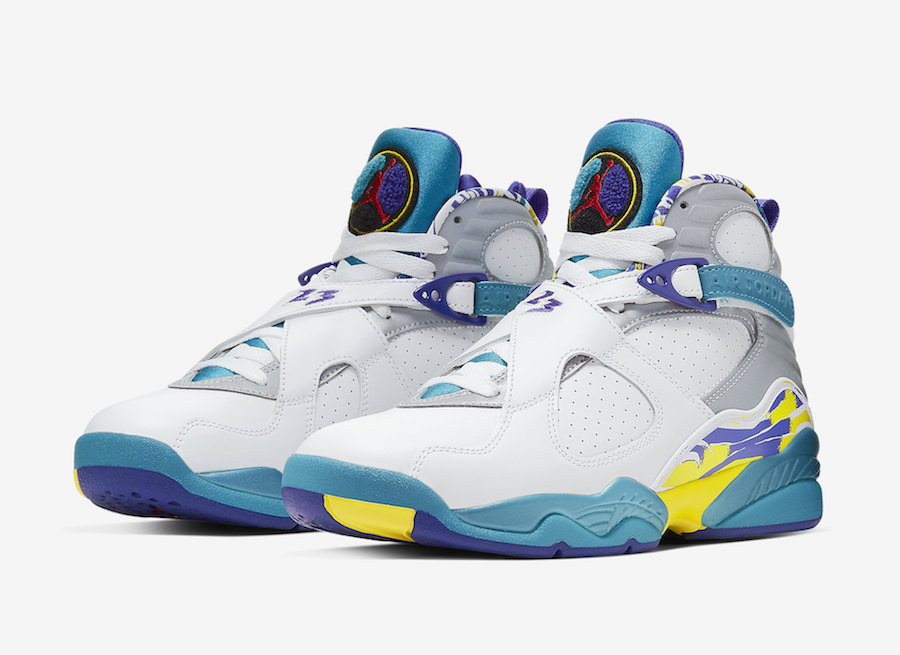 Air Jordan 8 White Aqua CI1236-100 2019 Release Date Price
