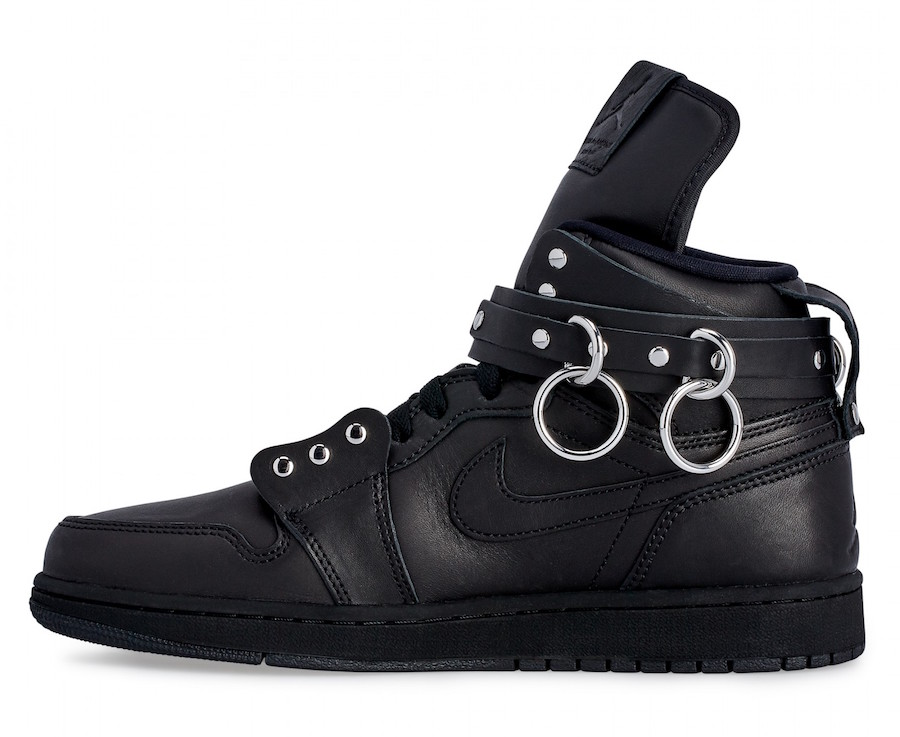 CDG Homme Plus Air Jordan 1 Black CN5738-001 Release Date