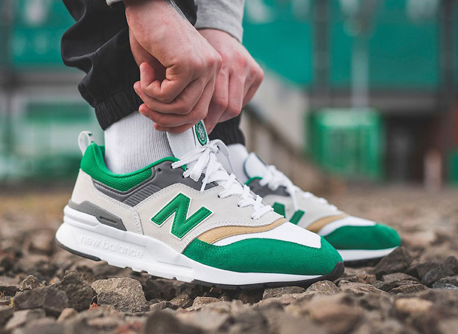Celtic Football Club New Balance 997H Green Release Date