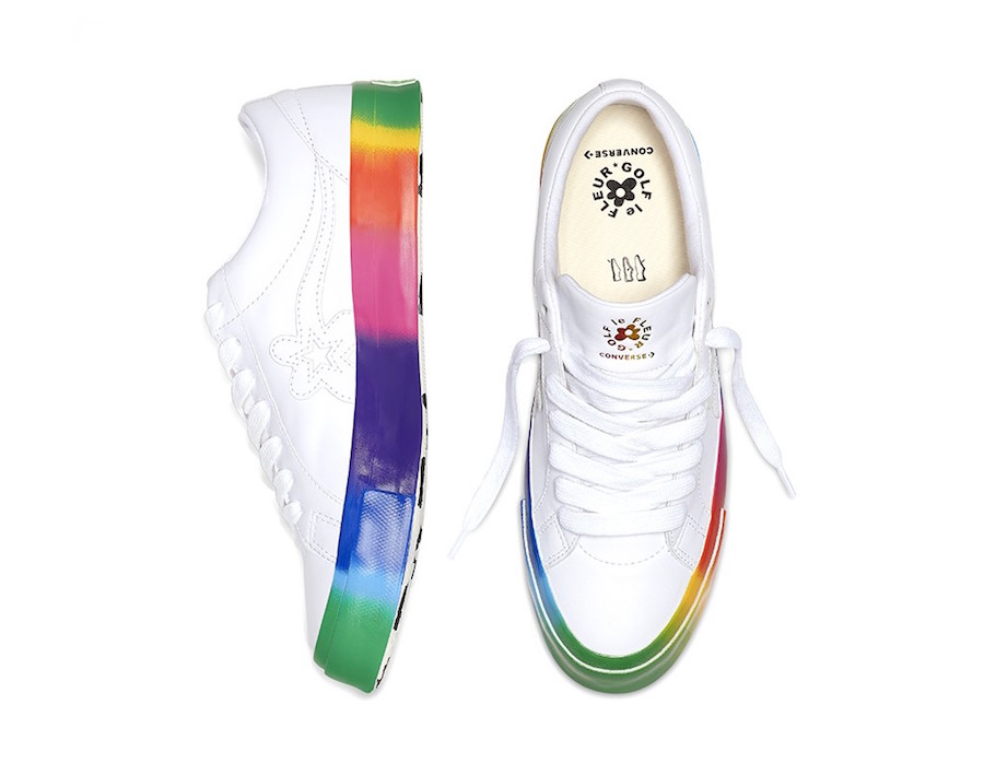 Converse One Star Golf Le Fleur Rainbow Release Date