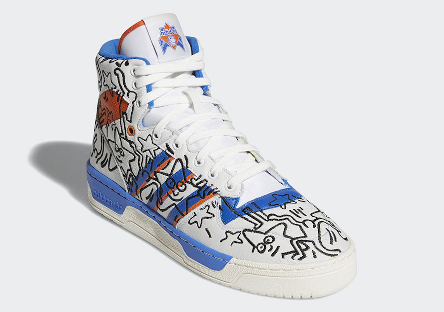 Keith Haring adidas Rivalry Hi EE9296 Release Date