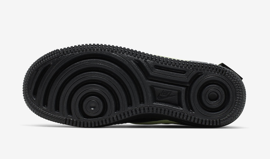 Nike Air Force 1 Jester XX Black Barely Volt CN0139-001 Release Date