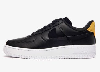 "84a3f1cf27 Nike Air Force 1 Low ""Inside Out"" in Black Releasing This August"