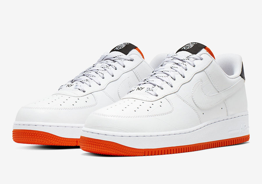 Nike Air Force 1 Low NY vs NY CJ5848-100 Release Date