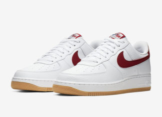 Nike Air Force 1 Low White Gum Blue Void CI0057-101 Release Date