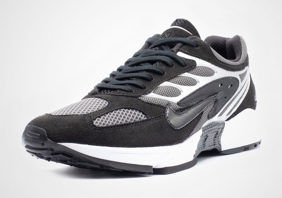 Nike Air Ghost Racer Black Silver AT5410-002 Release Date