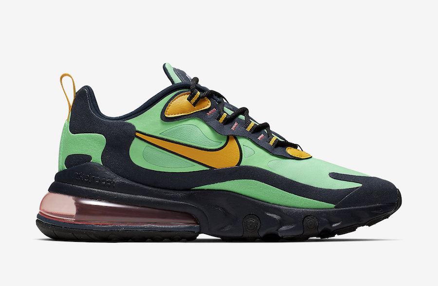 Nike Air Max 270 React Electro Green AO4971-300 Release Date Price
