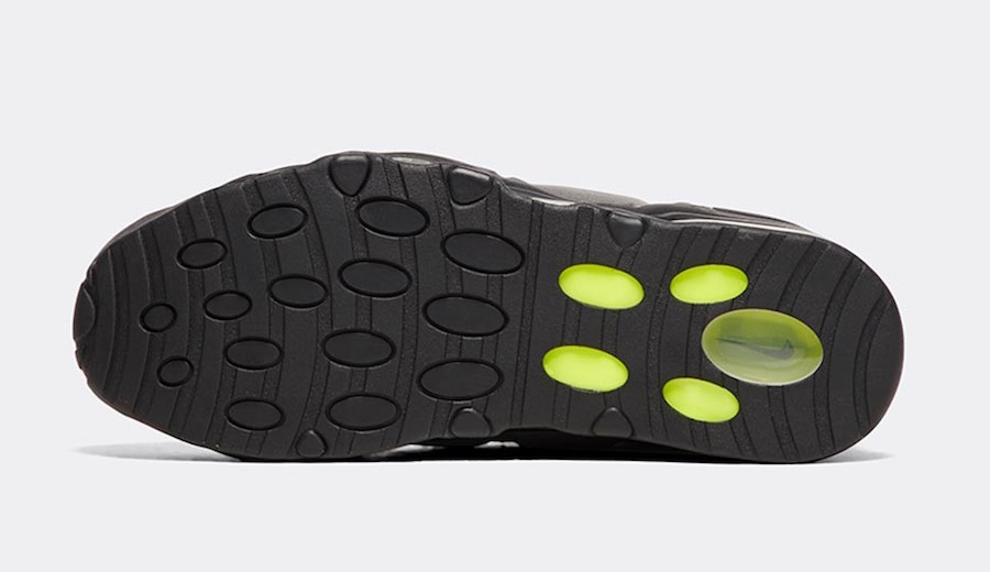 Nike Air Max Uptempo 95 Black Volt Dust Dark Pewter Release Date
