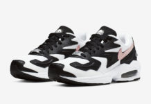 Nike Air Max2 Light Black White Pink AO3195-101 Release Date
