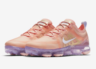 Nike Air VaporMax 2019 Bleached Coral AR6632-603 Release Date
