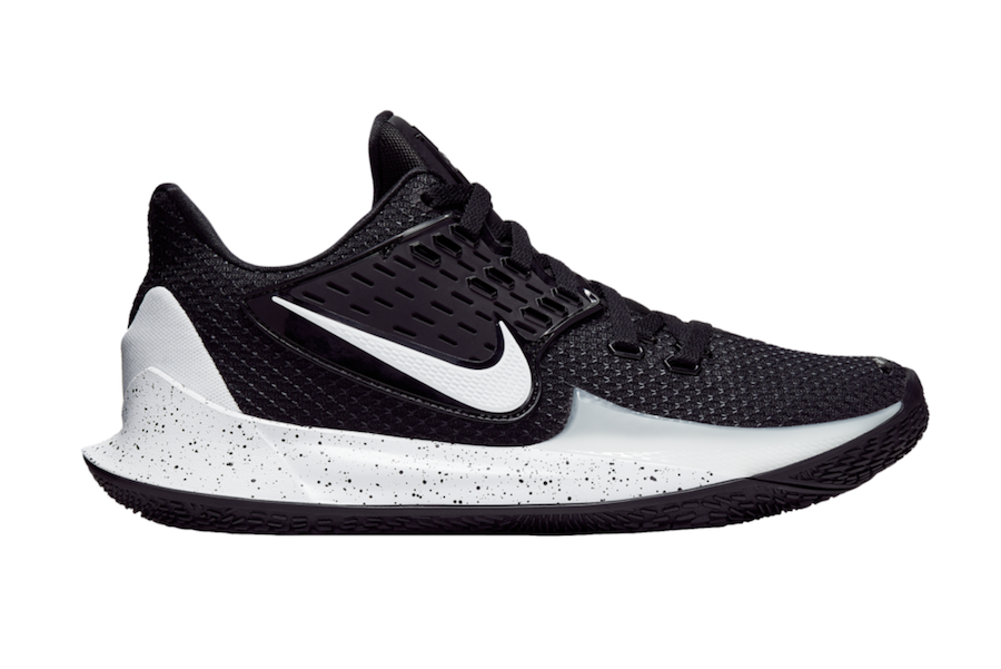cheap for discount 75406 f30d6 Nike Kyrie Low 2 Black White AV6337-002 Release Date - SBD