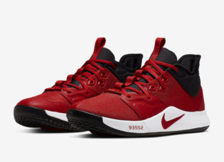 Nike PG 3 University Red AO2607-600 Release Date