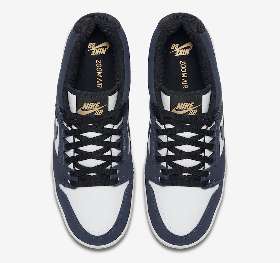 Nike SB Air Force 2 Low Obsidian AO0300-400 Release Date