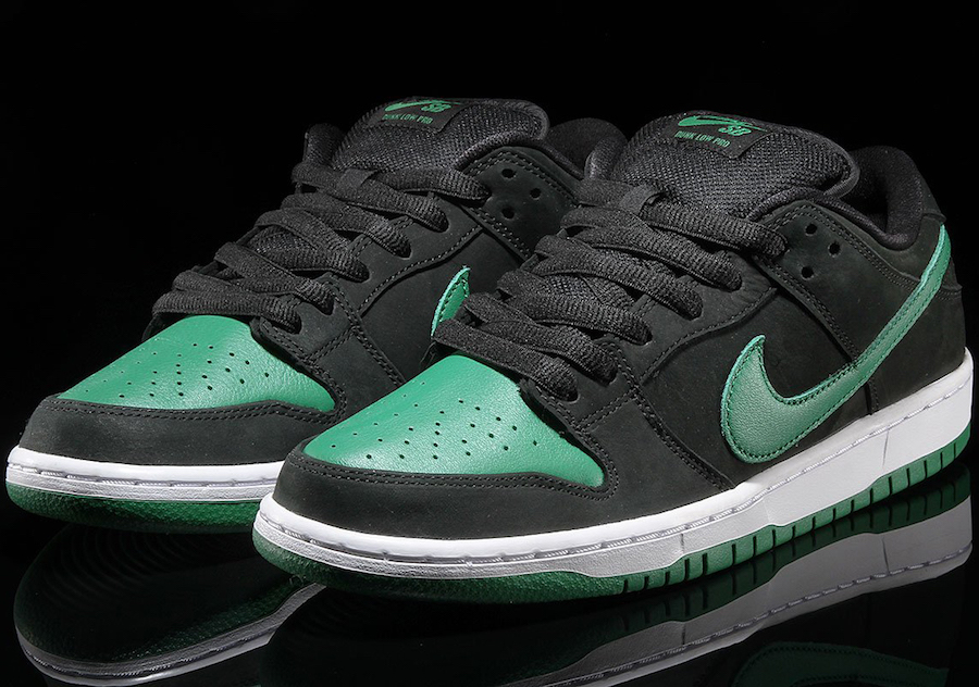 Nike SB Dunk Low J-Pack Black Pine Green BQ6817-005 Release Date