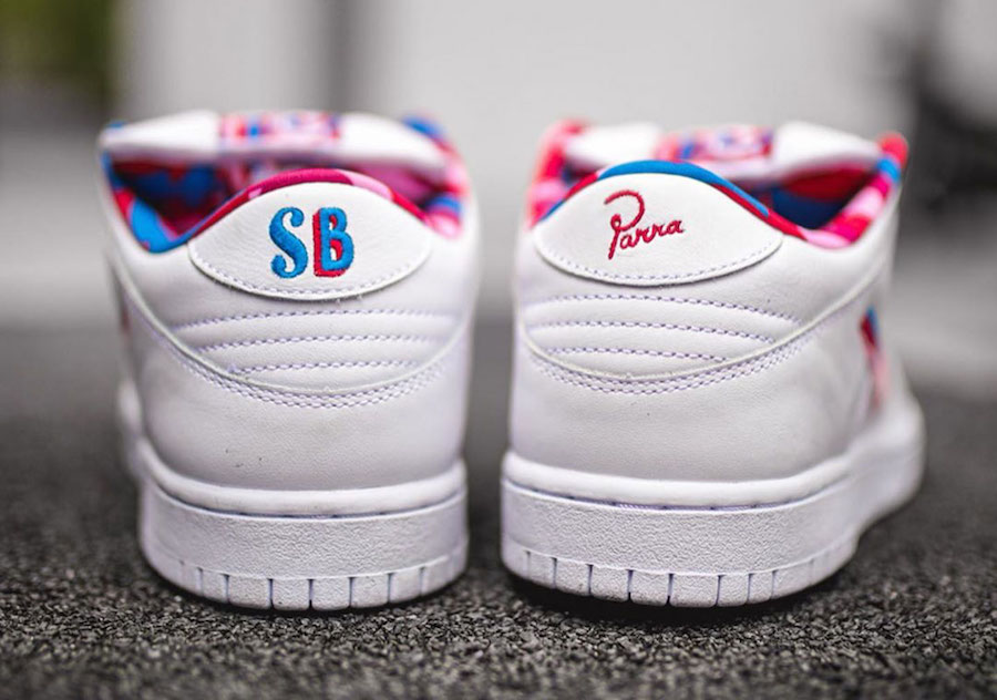 Parra Nike SB Dunk Low Release Date