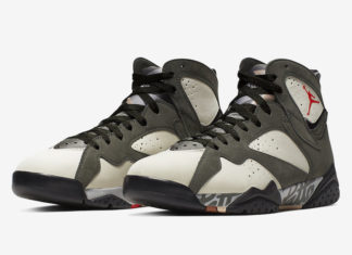 Patta Air Jordan 7 Icicle AT3375-100 Release Date
