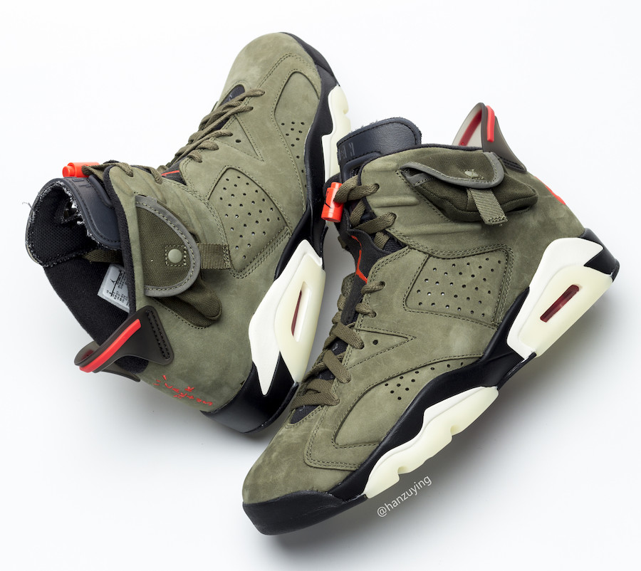 Travis Scott Air Jordan 6 3M Glow in the Dark CN1084-200 2019 Release Date