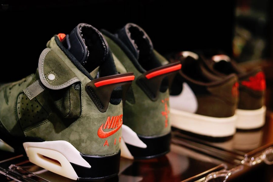 Travis Scott Air Jordan 6 CN1084-200 2019 Release Date