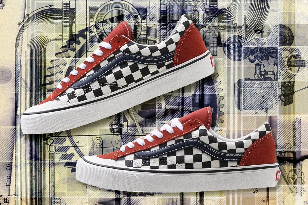 Vans Style 36 SF Two-Tone Salt Wash Checkerboard Release Date