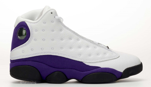 "finest selection 9c80e e8c8d Air Jordan 13 ""Lakers"" Color  White Black-Court Purple-University Gold  Style Code  414571-105. Release Date  July 20, 2019. Price   190"