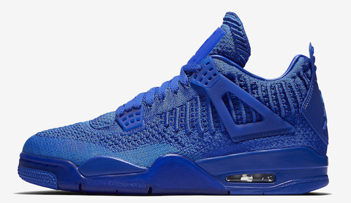 brand new 2c072 f102c Air Jordan 4 Flyknit Color  Hyper Royal Hyper Royal-Black Style Code   AQ3559-400. Release Date  June 14, 2019. Price   220