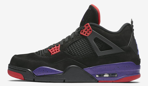 "443954960cc Air Jordan 4 NRG ""Raptors"" Color: Black/University Red-Court Purple Style  Code: AQ3816-056. Release Date: June 2, 2019. Price: $200 — Buy: eBay //  Nike"