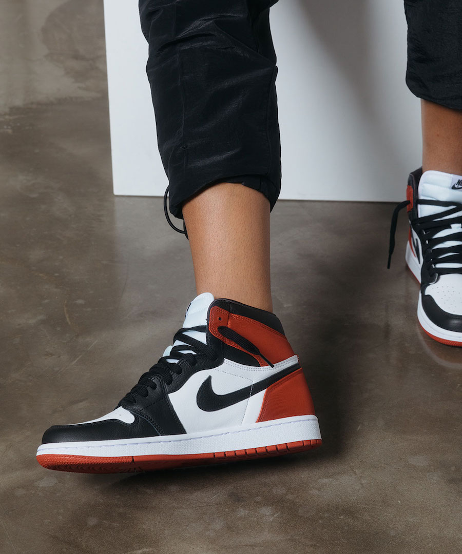 Air Jordan 1 Satin Black Toe 2019 Release Date