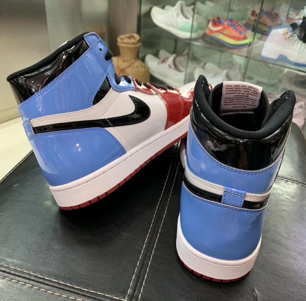Air Jordan 1 UNC To Chicago Fearless CK5666-100 2019 Release Date