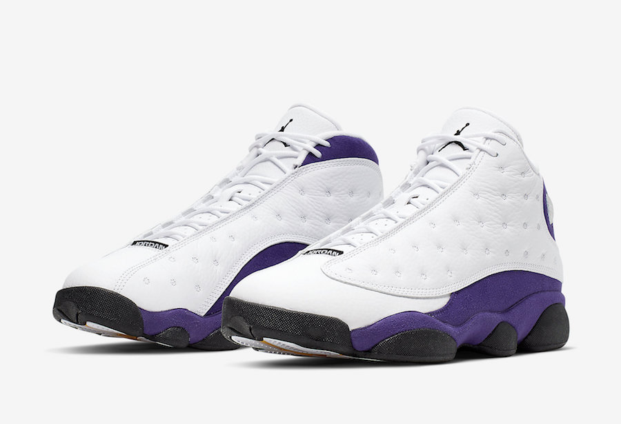 cheap for discount e796d e2273 Air Jordan 13 Lakers Rivals 414571-105 Release Date - SBD