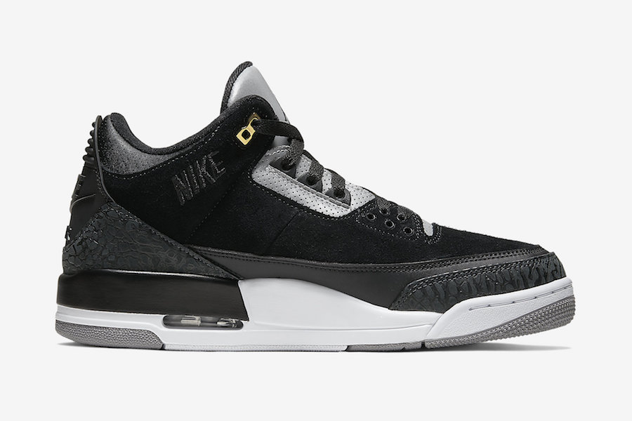 Air Jordan 3 Tinker Black Cement Grey CK4348-007 2019 Release Date
