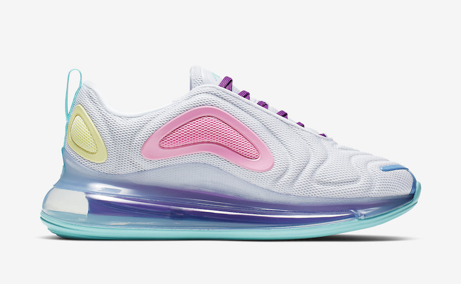 Nike Air Max 720 White Psychic Powder AR9293 102 Release