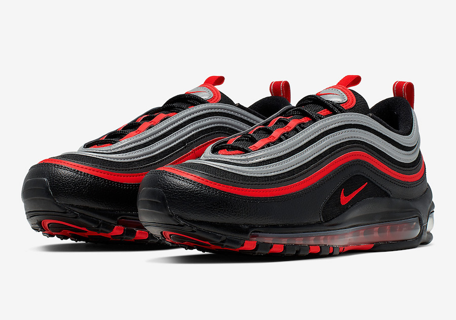 Nike Air Max 97 Black Red Silver 921826 014 Release Date SBD