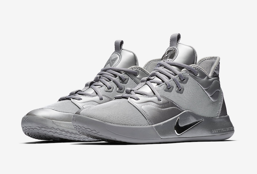 Nike PG 3 NASA Silver Reflective CI2667-001 Release Date