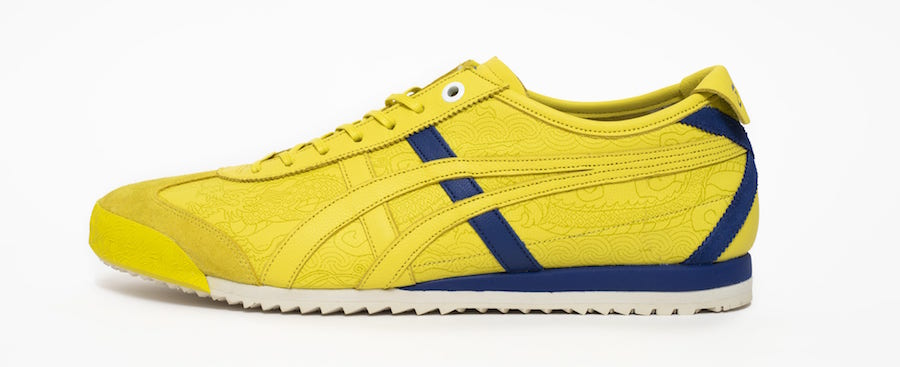 Street Fighter Onitsuka Tiger Chun-Li Mexico 66 SD Yellow Release Date