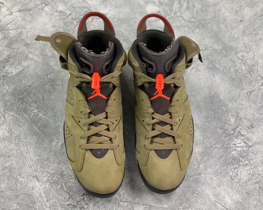 Travis Scott Air Jordan 6 2019 Release Date CN1084-200
