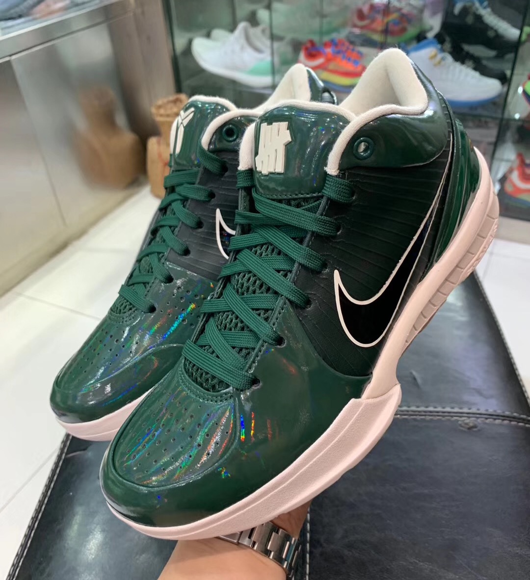 Undefeated Nike Kobe 4 Protro Fir Green CQ3869-301 Release Date